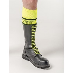 Mister B Shoe Laces Neon Yellow 20 hole