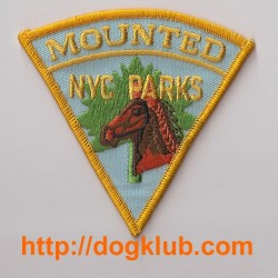 OCCASION Ecusson Police montée de New York MOUNTED