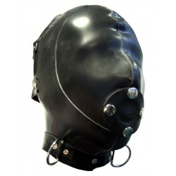 Mister B Rubber Extreme Hood With Removable Gag S