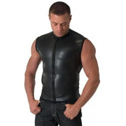 Neoprene Moto Vest Zip Smooth M
